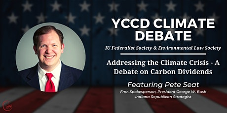 Addressing the Climate Crisis - A Debate on Carbon Dividends tickets