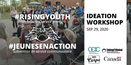 #RisingYouth Community Service Grants Ideation Workshop tickets