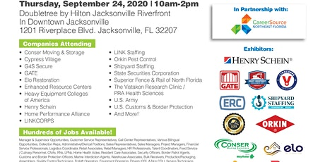 Jacksonville Job Fair - Companies Hiring for OVER 500 Jobs tickets