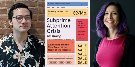 Subprime Attention Crisis: A New Book by Tim Hwang: tickets