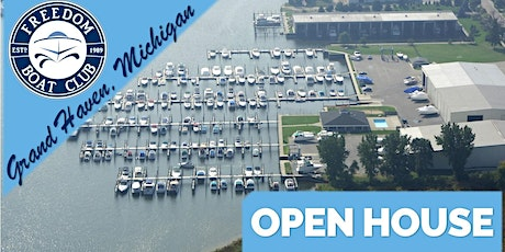 Freedom Boat Club Grand Haven | Open House! tickets