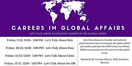 Careers in Global Affairs - Let's Talk About the UN tickets