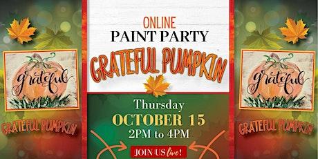 Grateful Pumplin Paint Party Live tickets