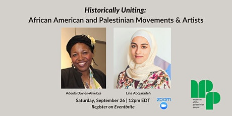 Historically Uniting: African American and Palestinian Movements & Artists tickets