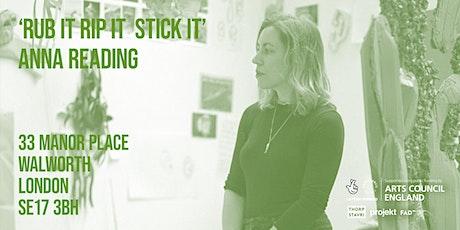 Anna Reading's workshop, 'RUB IT RIP IT  STICK IT' - part of Five Hides tickets