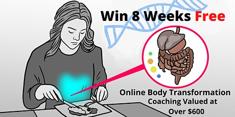 Win 8 Weeks Free Online Body Transformation Coaching Valued at Over $600! tickets