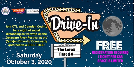Camden Drive-in Movie at the Delaware River Festival tickets