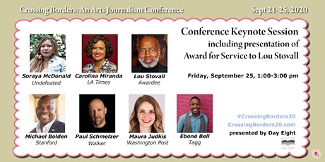 Conference Keynotes and  presentation of Award for Service to Lou Stovall tickets