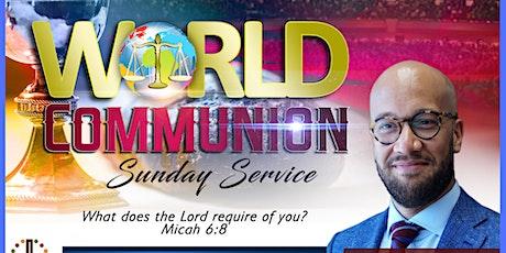 World Communion Sunday tickets