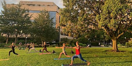 Sunset Vinyasa Yoga In  Wagner Park (Battery Park City) tickets