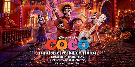 "Cineclub Infantil ""COCO"" boletos"
