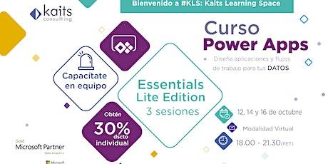 Curso Power Apps Essentials - Lite Edition tickets