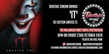 Boothie Cinema Brings 'IT' to  Sutton United FC 8:00pm tickets