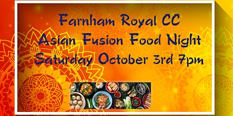 FRCC Asian Fusion Food Night tickets