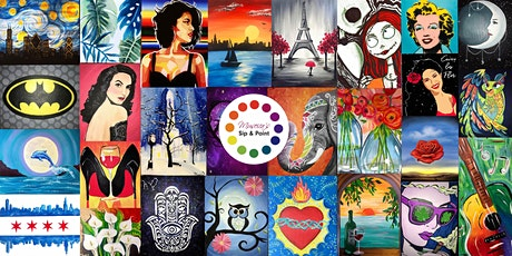 Museica's BYOB Sip & Paint OPEN class (Pick ANY painting!) tickets