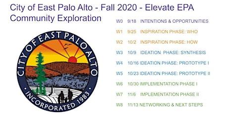 Elevate EPA - East Palo Alto Community Ideation Fall 2020 tickets