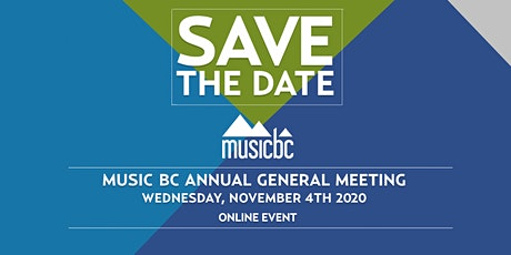 Music BC Annual General Meeting (Online)