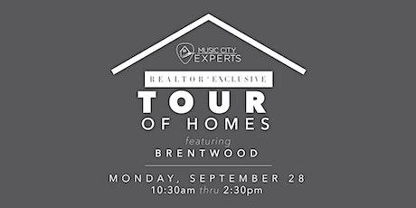 MCE REALTOR® Tour of Homes - September 2020 tickets
