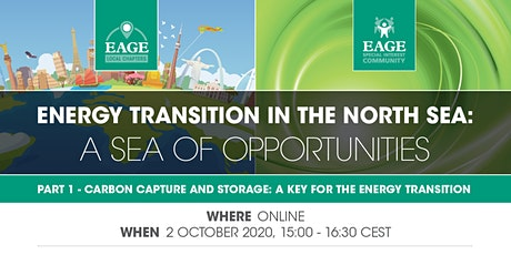 Energy Transition in the North Sea: A Sea of Opportunities - Part 1 tickets