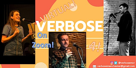 Virtual Verbose 4: Antony Szmierek, Amy King & The Fragile Poet tickets