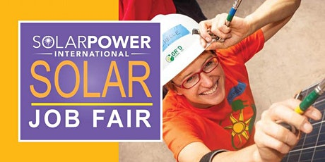 SPI, ESI, Smart Energy Week Solar Job Fair 2020 tickets