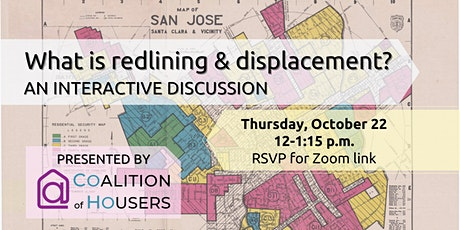 What is Redlining and Displacement? tickets