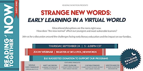 Strange New Words: Early Literacy in a Virtual World tickets