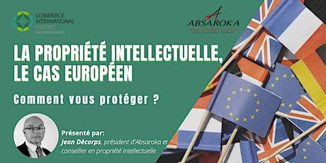 Propriété intellectuelle, le cas européen : comment vous protéger ? billets
