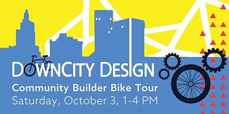 DownCity Design Community Builder Bike Tour tickets