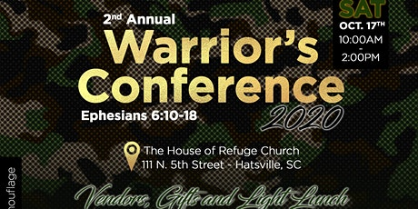 2nd Annual Warrior's Conference 2020 tickets