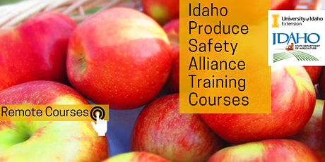 Remote Produce Safety Alliance Training tickets
