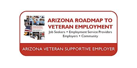Arizona Veteran Supportive Employer Training tickets