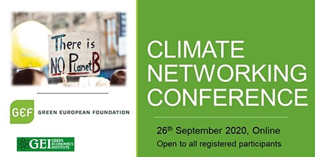 Climate Networking Conference (Online) billets
