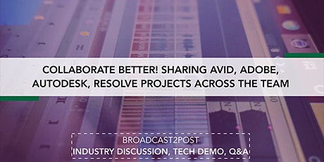 Sharing Avid, Adobe, Autodesk, Resolve Projects Across The Team Tickets