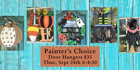 Painter's Choice Door Hanger tickets
