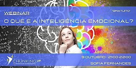 Webinar - O que é a Inteligência Emocional? ingressos