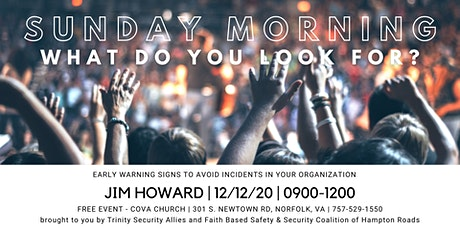 Sunday Morning:  What do you look for? tickets