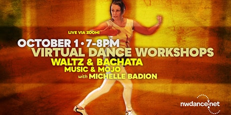 Michelle Badion Shares Her Favorite Waltz and Bachata Moves tickets