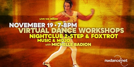 Michelle Badion Shares Her Favorite Nightclub 2-Step and Foxtrot Moves tickets
