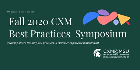 Fall 2020 CXM Best Practices Symposium tickets