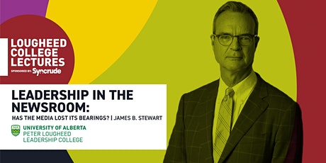 Lougheed College Lectures sponsored by Syncrude hosts James Stewart tickets