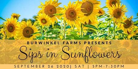 Sips in Sunflowers 2020 tickets
