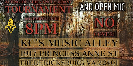 Airing of Grievances Roast Tournament & Open Mic Pt.2 Electric Boogaloo tickets