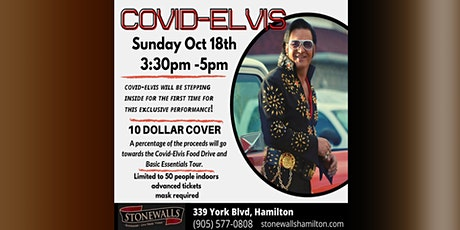 COVID ELVIS Fundraiser & Food Drive tickets