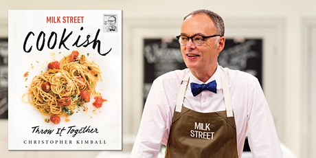 Virtual Author Event: Milk Street's Christopher Kimball, author of Cookish tickets
