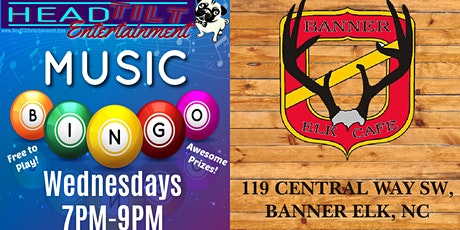 Music Bingo At Banner Elk Cafe and Lodge Espresso Bar and Eatery tickets