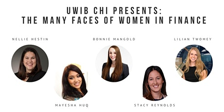 UWIB CHI Present: The Many Faces of Women in Finance tickets