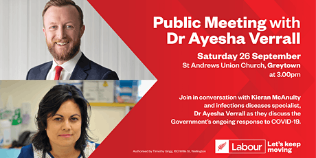 Public Meeting with Dr Ayesha Verrall tickets