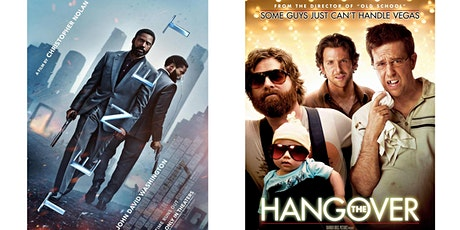 1.) TENET	2.) The Hangover tickets