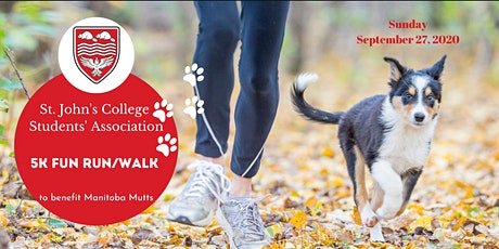 St. John's College Virtual 5K Run/Walk for Manitoba Mutts tickets